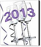 New Year 2013 Canvas Print