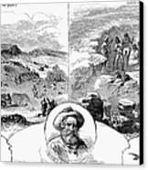 Nez Perce Campaign, 1877 Canvas Print by Granger