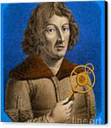 Nicolaus Copernicus, Polish Astronomer Canvas Print by Omikron