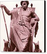 Odin, Norse God Canvas Print by Photo Researchers