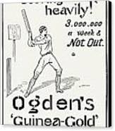 Ogdens Cigarettes, 1897 Canvas Print