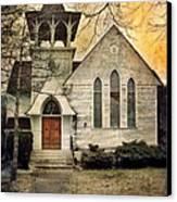 Old Church Canvas Print by Jill Battaglia