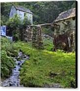 Old Watermill Canvas Print by Joana Kruse