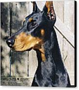 On Guard Canvas Print by Rita Kay Adams