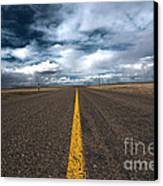 Open Highway Canvas Print by Arjuna Kodisinghe