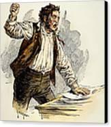 Owen Lovejoy (1811-1864) Canvas Print by Granger