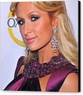 Paris Hilton At A Public Appearance Canvas Print