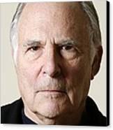 Paul Ekman, American Psychologist Canvas Print by Volker Steger