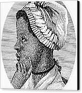 Phillis Wheatley 1753-1784, The First Canvas Print by Everett