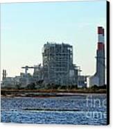 Power Station Canvas Print by Henrik Lehnerer