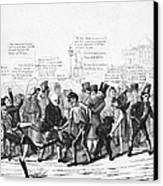 Presidential Campaign, 1824 Canvas Print