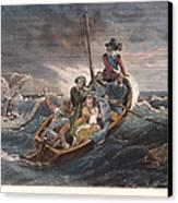 Puritan Fugitives Canvas Print