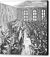Quaker Meeting Canvas Print by Granger