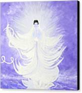 Quan Yin Canvas Print by Judy M Watts-Rohanna