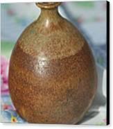 Rare John Regis Tuska Pottery Vase Canvas Print