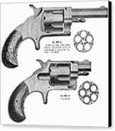 Revolvers, 19th Century Canvas Print