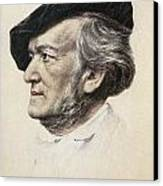 Richard Wagner (1813-1883) Canvas Print by Granger