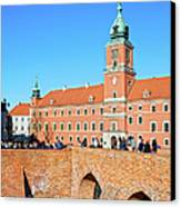 Royal Castle In Warsaw Canvas Print by Artur Bogacki