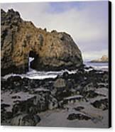 Sea Arch At Pfeiffer Beach Big Sur Canvas Print
