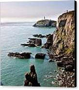 South Stack Canvas Print by Gary Finnigan