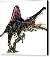 Spinosaurus Dinosaur, Artwork Canvas Print by Animate4.comscience Photo Libary