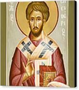 St Eleftherios Canvas Print by Julia Bridget Hayes