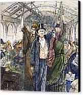 Streetcar, 1876 Canvas Print by Granger