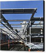 Structural Steel Construction Of An Canvas Print