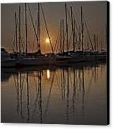 Sunset Canvas Print by Joana Kruse