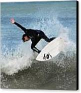 Surfing 395 Canvas Print by Joyce StJames