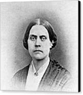 Susan B. Anthony, American Civil Rights Canvas Print by Photo Researchers, Inc.