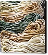 Tagliolini Pasta Canvas Print