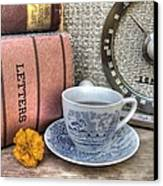 Tea Time Canvas Print by Jane Linders