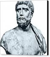 Thales, Ancient Greek Philosopher Canvas Print by Photo Researchers