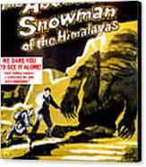 The Abominable Snowman, Aka The Canvas Print