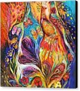 The Dance Of Butterflies Canvas Print by Elena Kotliarker