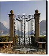 The Gateway To Lago Di Lugano Canvas Print