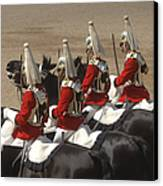 The Household Cavalry Performs Canvas Print