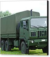 The Iveco M250 8 Ton Truck Canvas Print by Luc De Jaeger