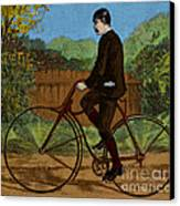 The Rover Bicycle Canvas Print by Science Source