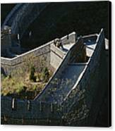 The Simatai Section Of The Great Wall Canvas Print
