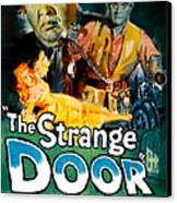 The Strange Door, Charles Laughton Canvas Print by Everett