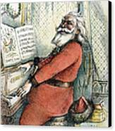 Thomas Nast: Santa Claus Canvas Print