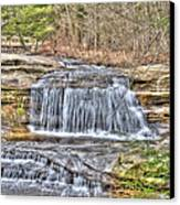 Top Of The Upper Falls Canvas Print
