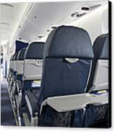 Tray Table On An Airplane Canvas Print by Jaak Nilson