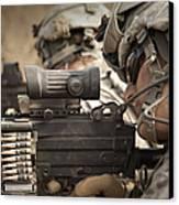U.s. Army Rangers In Afghanistan Combat Canvas Print