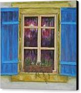 Viva Le Bleu Canvas Print by Siobhan Lawson