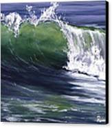 Wave 8 Canvas Print by Lisa Reinhardt