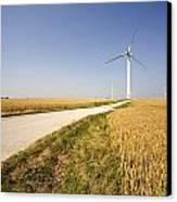 Wind Turbine, Humberside, England Canvas Print