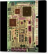 X-ray Of Sound Card Canvas Print by D. Roberts